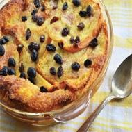 Satisfy your sweet tooth cravings during Chanukah with a selection of tasty desserts. Challah Bread Pudding with Chocolate and Raisins Ingredients 4 cups whole milk, warmed 8 tbsp butter, melted 1 ½ cups sugar 6 eggs 1 tsp vanilla extract 1 loaf challah bread, cut into 1 ½ inch slices 1 cup chocolate chips ½ cup raisins For the chocolate ganache 1 cup whipping cream 1 cup chocolate chips Method Preheat the oven to 325°F. Combine warmed milk and melted butter with the sugar, eggs, and vanilla in a large mixing bowl. Whisk until smooth. Line a large baking dish with two-thirds of the challah slices. Sprinkle with half the chocolate chips and half the raisins. Top with remaining challah slices, layering them one on top of the other, and then remaining chocolate chips and raisins, making sure the chips and raisins get inside the layers created by the challah slices. Pour milk mixture slowly over the top of everything and let stand until the bread has absorbed almost all of the liquid, 5 to 10 minutes. Wrap the baking dish tightly with aluminium foil and bake for 50 minutes. Remove the aluminium foil and cook 10 to 15 minutes longer until set in the middle and lightly browned on top. For the ganache In a small saucepan, heat cream to just below a simmer. Place the chocolate chips in a medium heat-proof bowl and pour the hot cream over the chocolate chips. Whisk until ganache becomes a smooth chocolate sauce. Drizzle over the top and serve while warm. Rugelach Ingredients 2 cups all-purpose flour ¼ tsp coarse salt 1 cup (2 sticks) unsalted butter, softened 8 oz cream cheese, room temperature ½ cup plus 2 tbsp sugar 1 ½ tsp ground cinnamon ¼ tsp ground nutmeg ¾ cup apricot preserves 1 1/3 cups walnuts, toasted and finely chopped 1 cup currants ½ cup golden raisins, coarsely chopped 3 tbsp cream Method Whisk flour and salt in a bowl; set aside. Mix butter and cream cheese. Add flour mixture. Turn out dough onto a lightly floured surface. Roll into a ball; wrap in plastic. R