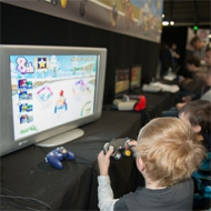children using pc