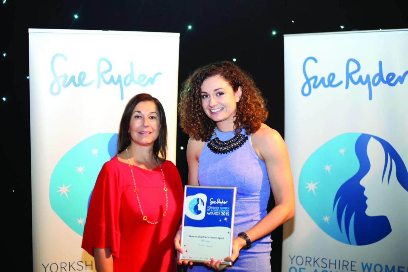 Sarah Speers Sports winner 2015