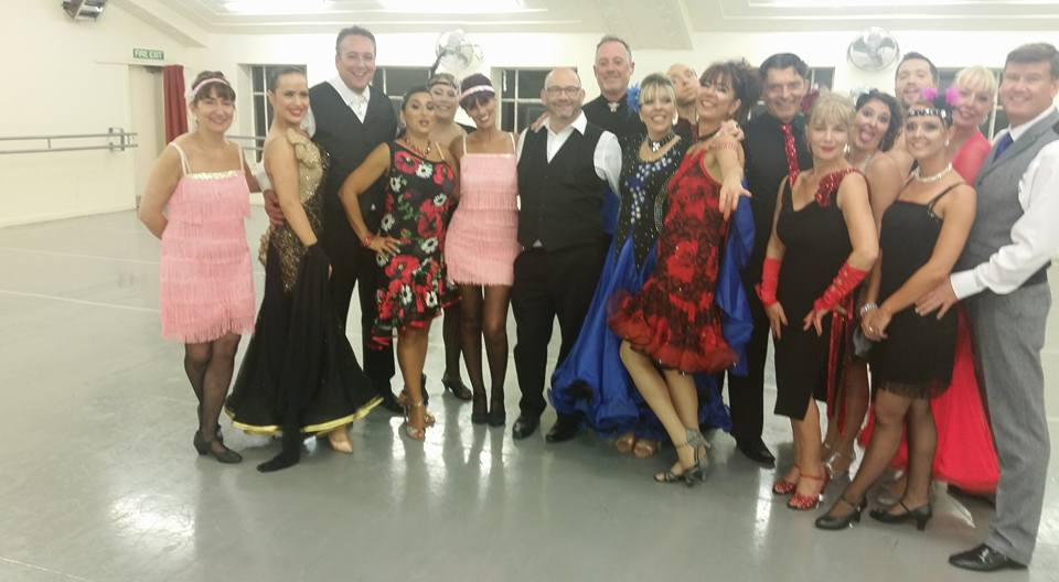 The class of Dancing Strictly 2016!