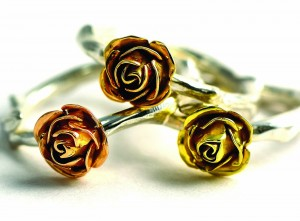 Delicate Yellow Rose Ring