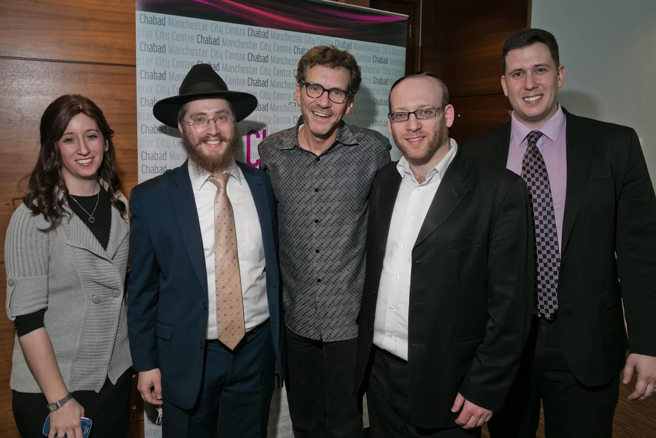 Mushky Cohen, Rabbi Shneur, David Weiss, Mark Jacobson, Daniel Brecker