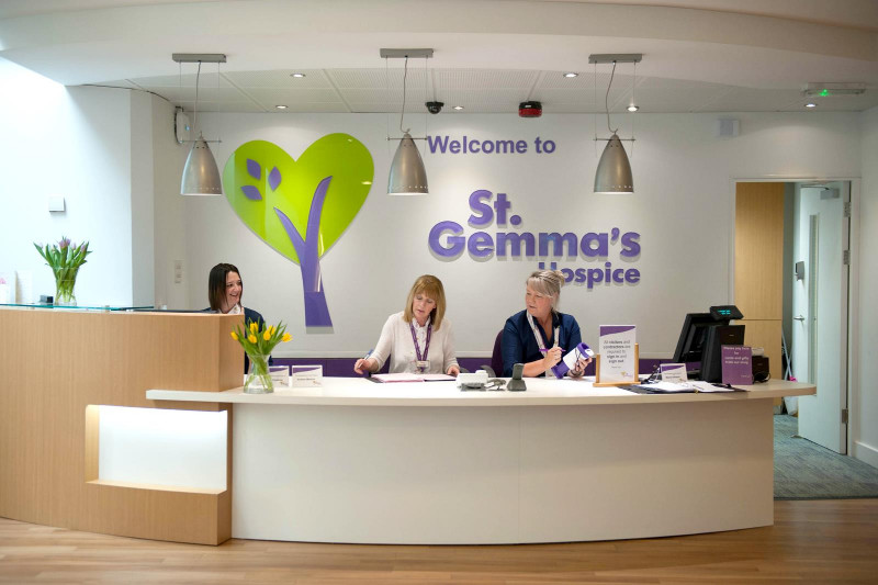 St-Gemmas-Hospice-Reception