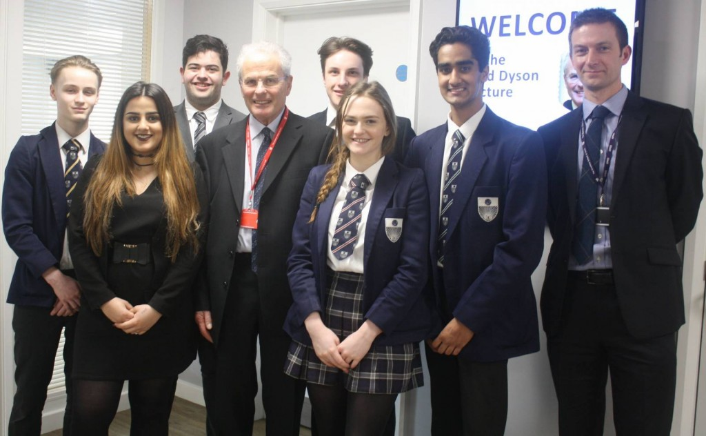 Lord Dyson with GSAL Law Soc founders