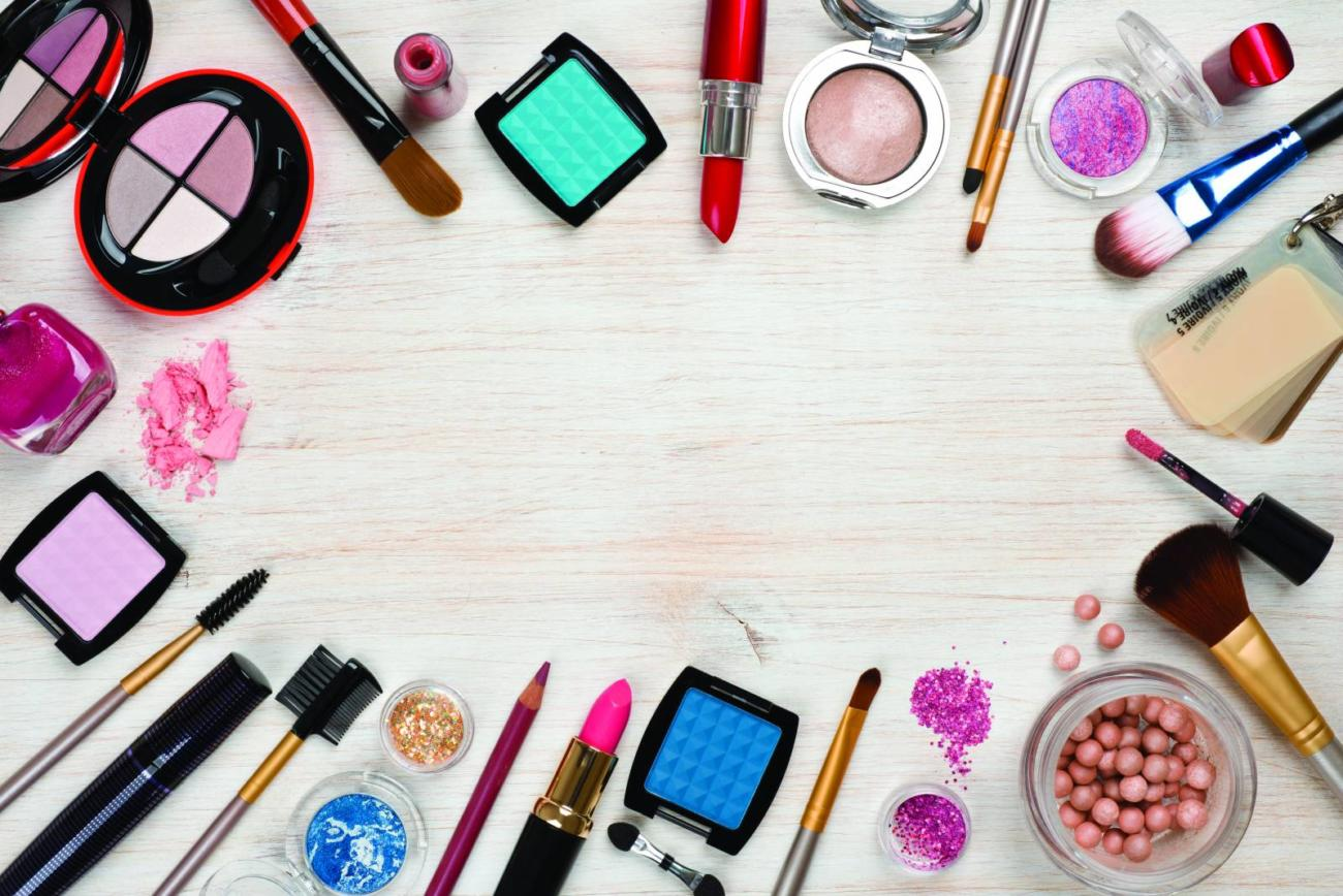 Girly makeup backgrounds