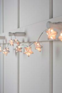 Banff Ceramic Star Fairy Lights