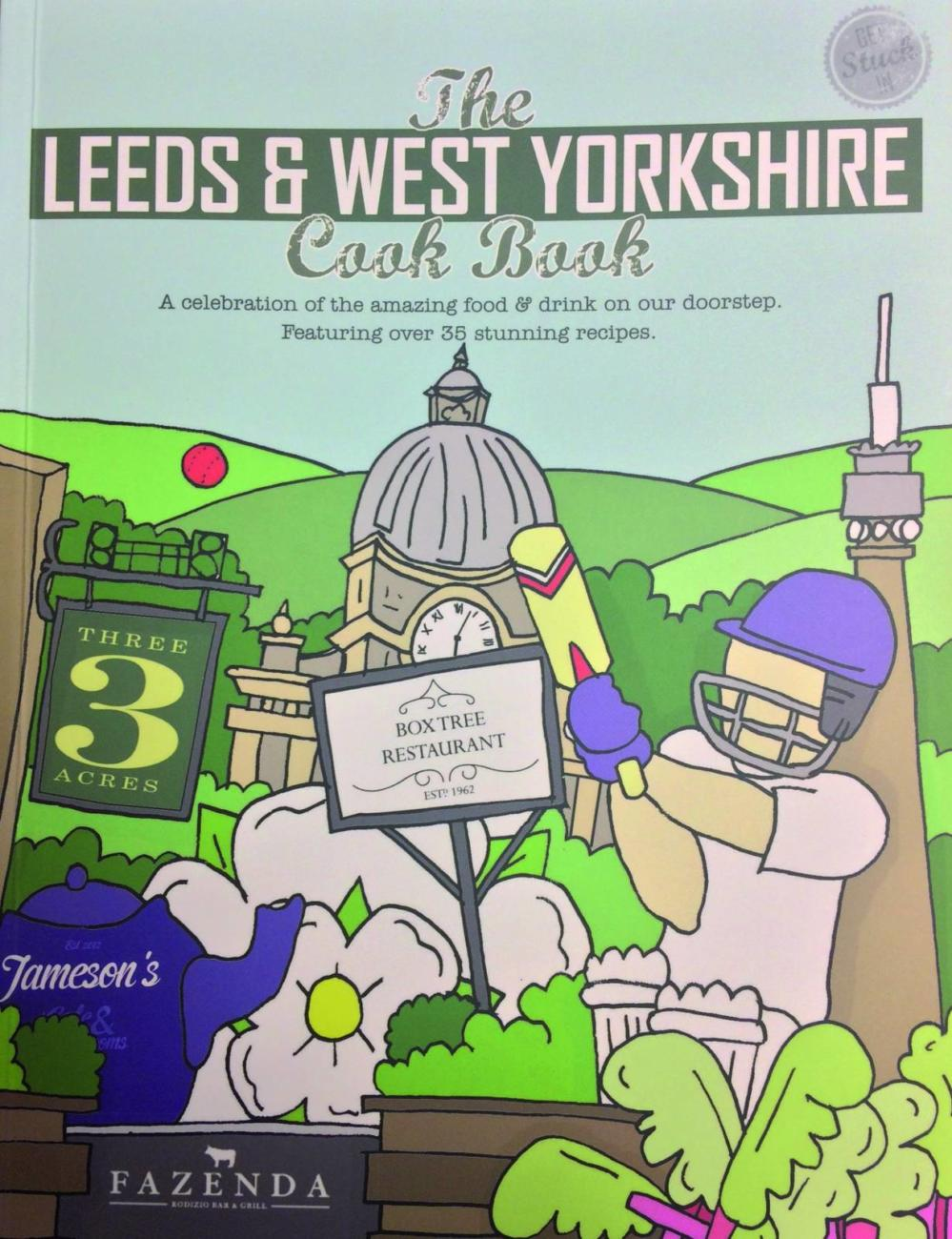 Win a Copy of The Leeds & West Yorkshire Cook Book, courtesy of Jameson's Café & Tea Rooms!