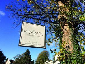 vicarage sign