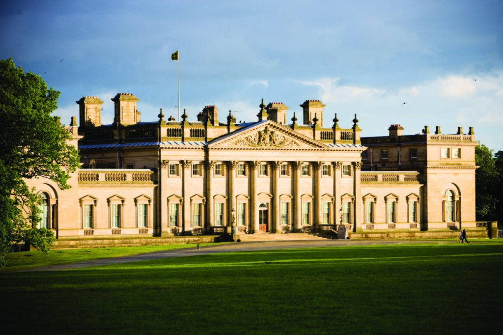 An image of Harewood House in Harewood, LS17
