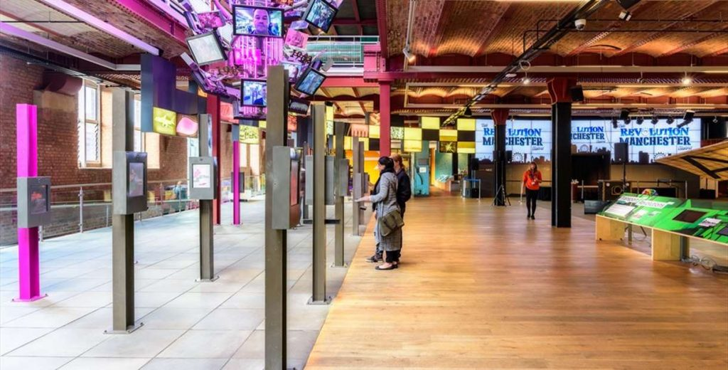 Picture of the lobby area of the Science and Industry Museum, Manchester