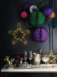 Festive decorations from George at Asda