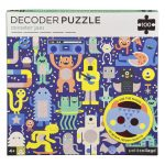 Petit Collage Decoder Puzzle Monster Jam