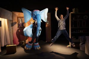 Performersin The Slightly Annoying Elephant, the family-friendly festive theatre show coming to Manchester this December