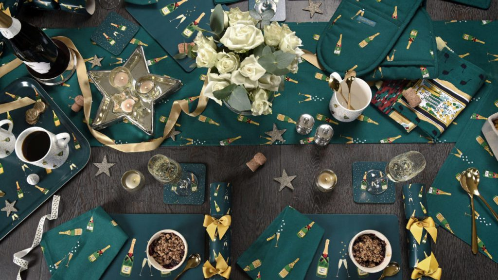 Festive party decorations by Sophie Allport