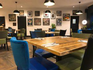 An interior shot of Blackmoor Dining Room