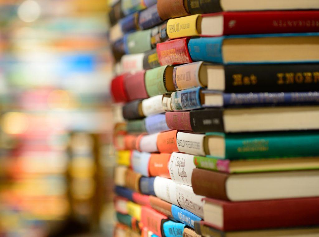 Huge pile of books