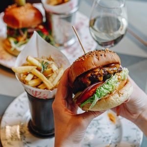 Burger at Bill's Restaurant & Bar Manchester