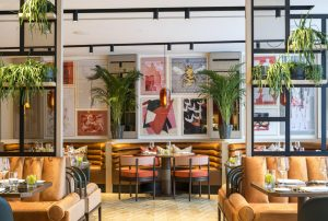 The Lowry Hotel's River Restaurant and Bar, offering food and board this Valentine's Day in Manchester