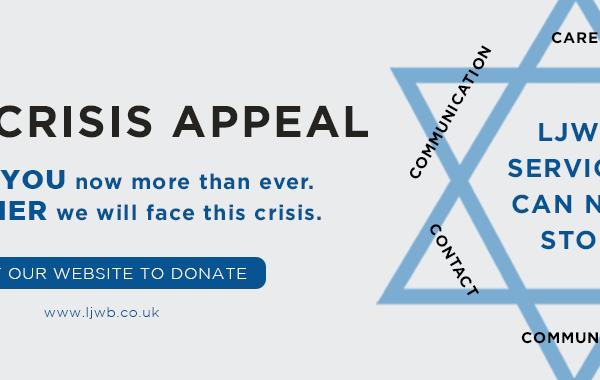 LJWB Crisis Appeal poster